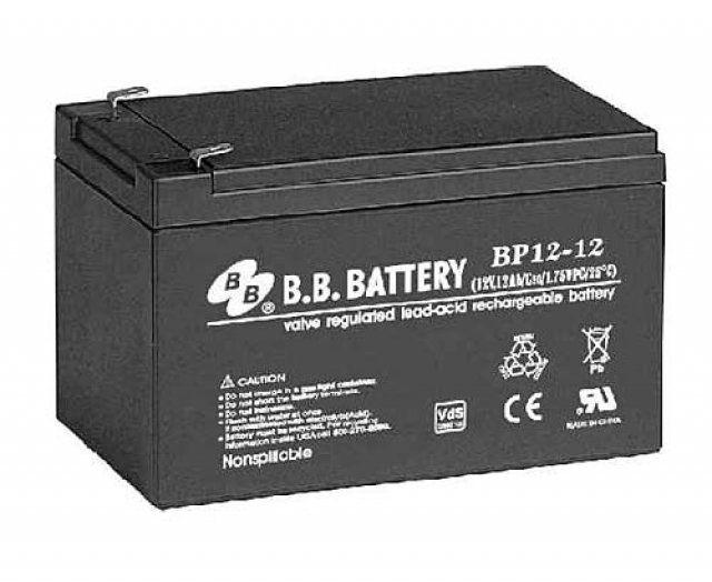 Аккумуляторная батарея B.B.Battery BP 12-12