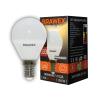 Светодиодная лампа BRAWEX шар 6Вт 3000К G45 Е14 2007B-G45-6L