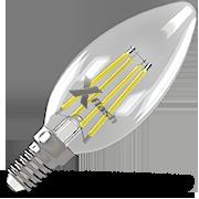X-Flash XF-E14-FL-C35-4W-2700K-230V