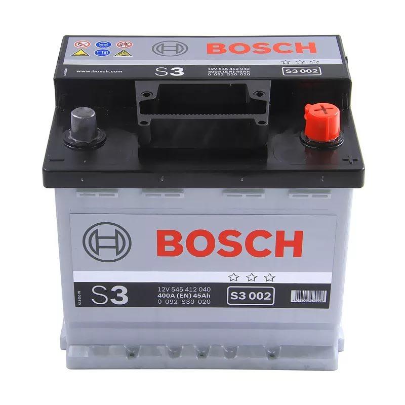 Аккумуляторная батарея BOSCH 45Ач EN400А п.п. (207х175х190, B13) S3 003 / 545 413 040