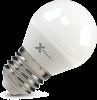 Светодиодная (LED) лампа X-Flash Globe E27 G45 P 5W(5вт),белый свет 4000K,световой поток 400лм 12V (45907)