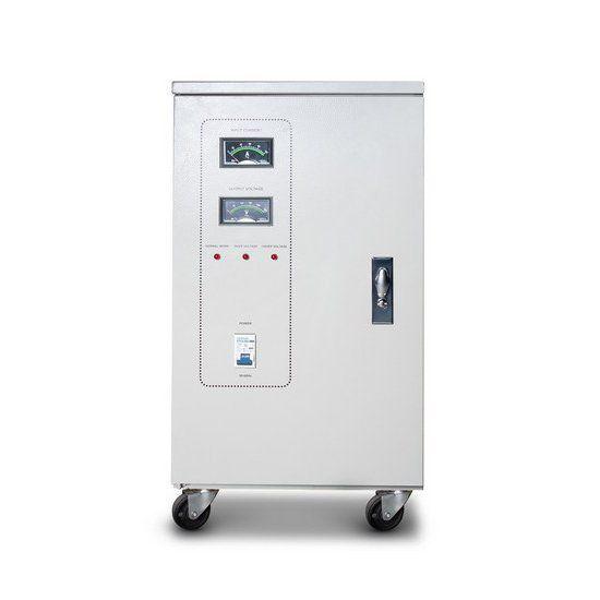 Стабилизатор SVC-3-45000, 45000ВА / 36000Вт, 380В, 45-60 Гц, 695*560*1280 мм