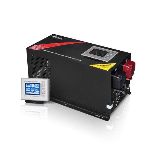 Инвертор SVC EP-2012, 2000ВА / 2000Вт, 220В, 48-54 Гц, 3 мс, чёрный, 468*224*212 мм