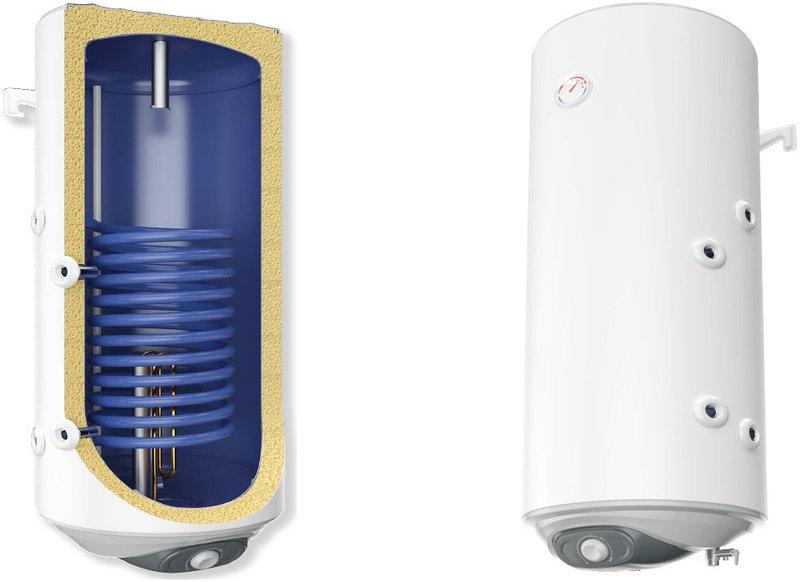 Комбинированный настенный бойлер с теплообменником и установленным эл. Тэном Parpol  MS 100