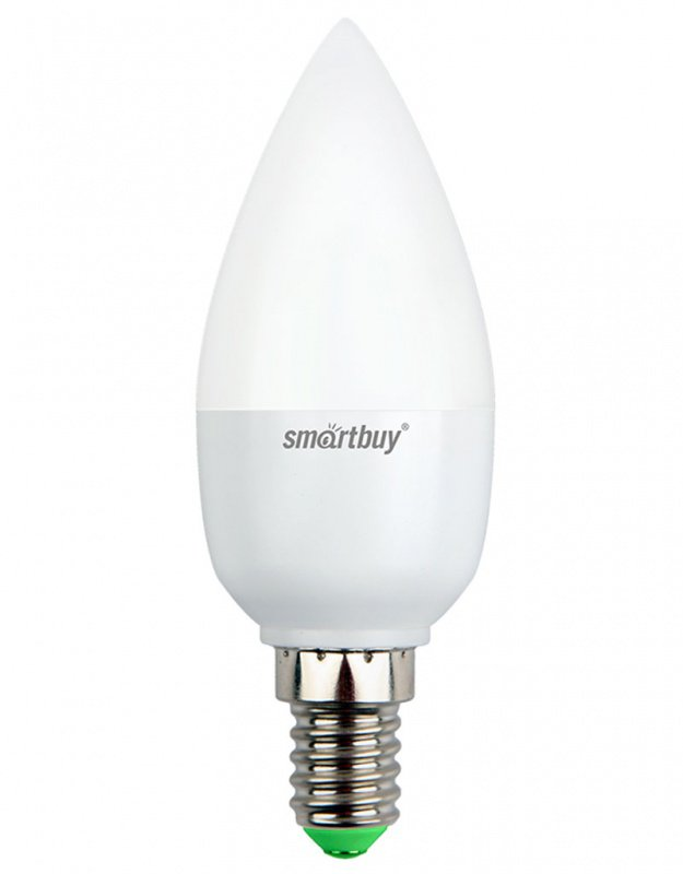 Светодиодная (LED) Лампа Smartbuy-C37-07W/3000/E14 (SBL-C37-07-30K-E14)
