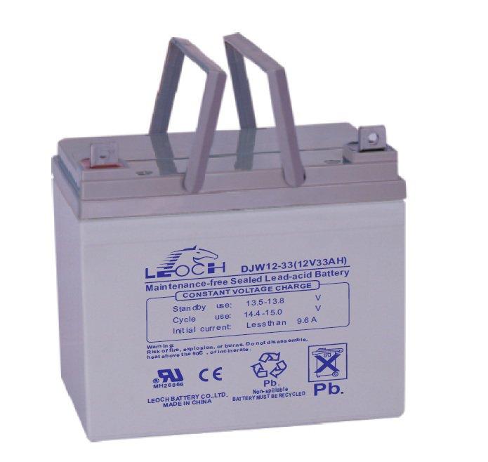 Аккумуляторная батарея Leoch Battery DJW 12-33