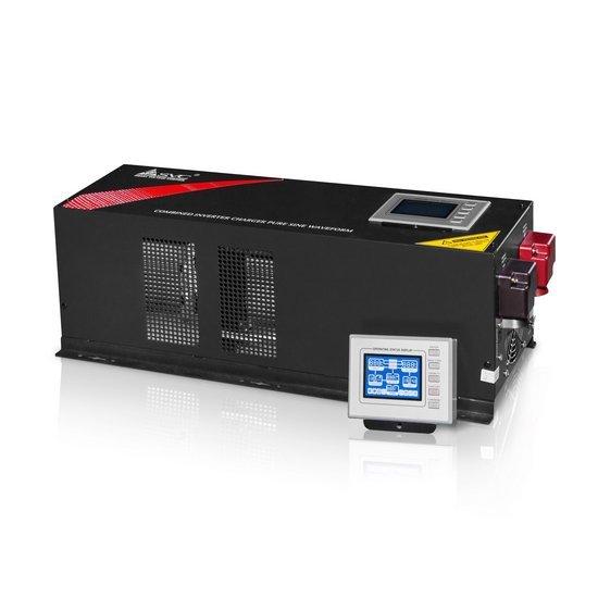 Инвертор SVC EP-6048, 6000ВА / 6000Вт, 220В, 48-54 Гц, 3 мс, чёрный, 644*224*212 мм