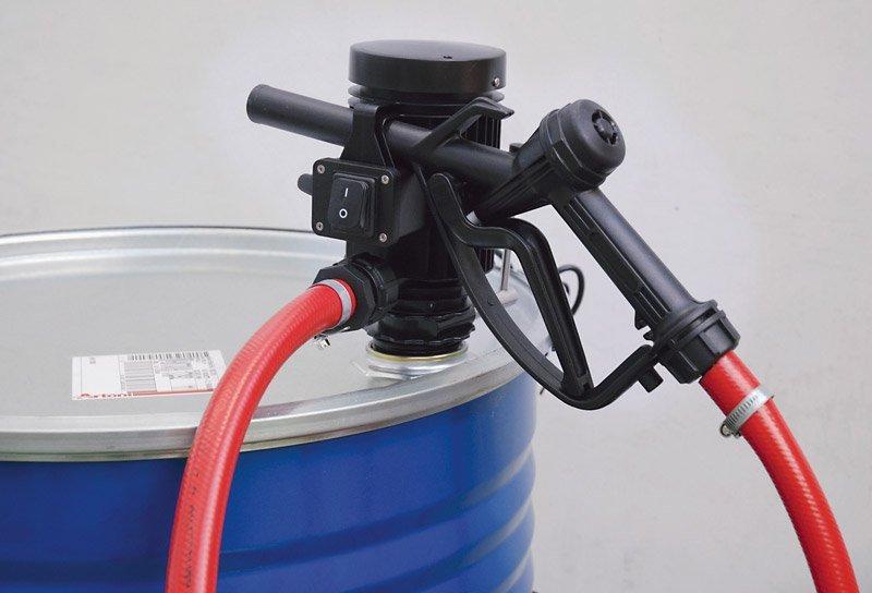 Бочковой комплект для раздачи и перекачки диз.топлива, воды, антифриза PIUSI PICO 24V