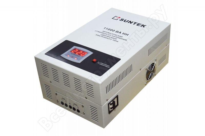 Стабилизатор напряжения однофазный SUNTEK 11000ВА-НН