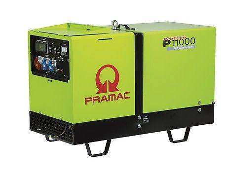 Дизельный генератор Pramac P11000, 400/230V, 50Hz  #IPP #HDE