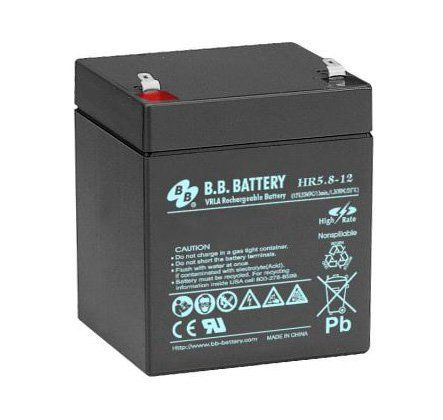 Аккумуляторная батарея B.B.Battery HR 5,8-12
