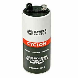 Аккумуляторная батарея EnerSys Cyclon Battery - 2V 25AH BC Cell