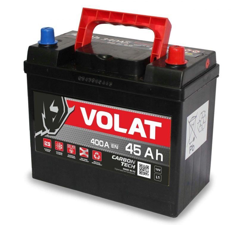 Аккумуляторная батарея VOLAT European Line 45 L+