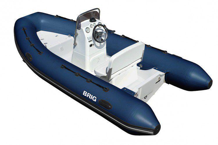 Лодка надувная BRIG F500L серия Falcon