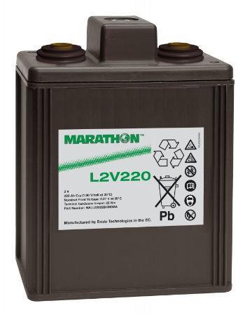 Аккумуляторная батарея MARATHON L 2V 220 (L 2/220)