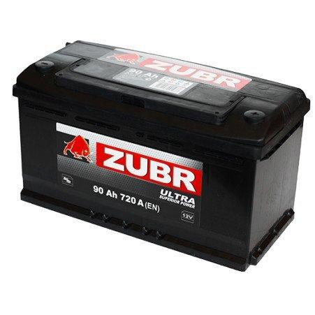 Аккумуляторная батарея ZUBR Ultra 90 L+