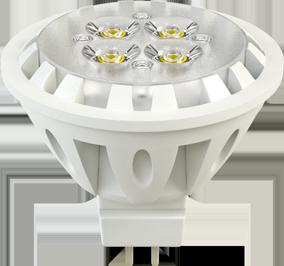 Светодиодная (LED) лампа X-Flash Spotlight MR16 GU5.3 6W(6вт),желтый свет 3000K,световой поток 350лм, 12V(в) (43507)