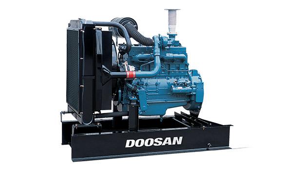 Дизельный двигатель Doosan P086TI для дизель-генераторных электростанций