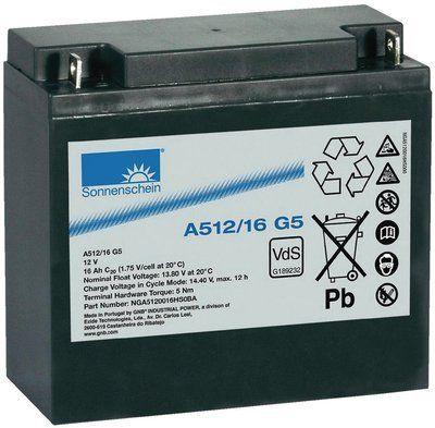 Аккумуляторная батарея SONNENSCHEIN A 512/16.0 G5