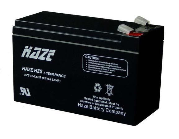 Аккумуляторная батарея HAZE HZS12-7.5