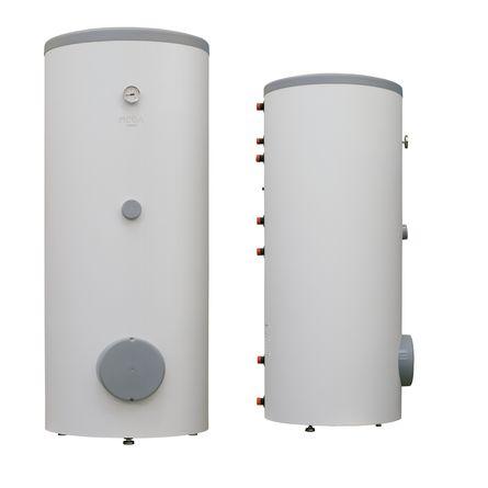 Водонагреватель комбинированного и косвенного нагрева Nibe Mega W-E 400.81