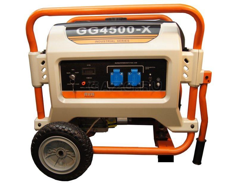 Бензогенератор REG GG4500-X