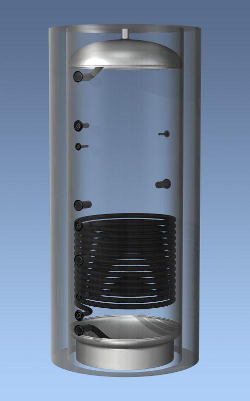 Буферные накопители Hajdu AQ PT 1000 C без изоляции