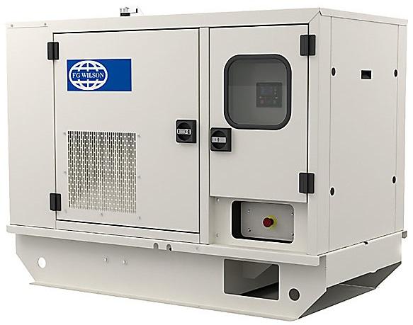 Однофазная дизельная электростанция FG WILSON P11-6S кожух