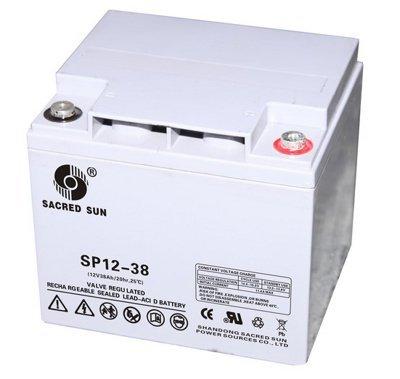 Аккумуляторная батарея Sacred Sun SP12-38