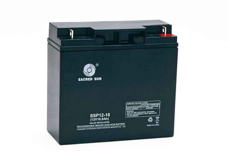 Аккумуляторная батарея Sacred Sun SSP12-18